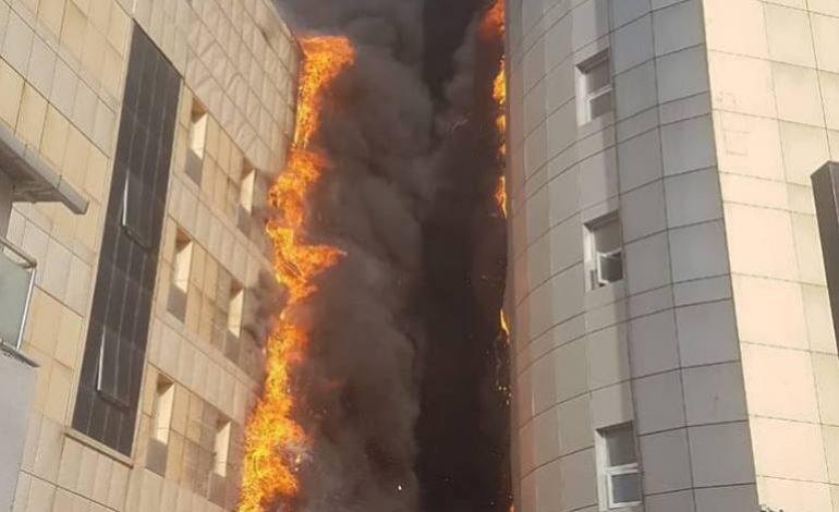 Taksim İlkyardım Hastanesinde Yangın!