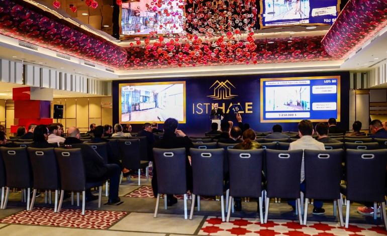 Türkiye'nin ilk münferit gayrimenkul müzayedesinde yüzde 28'lik satış başarısı