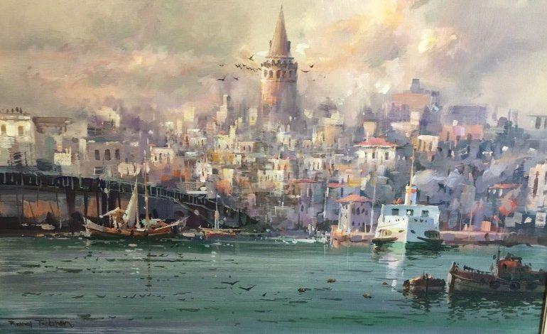 """""""İstanbul ve Anadolu Resimleri"""" sergisi İncek Loft'ta"""