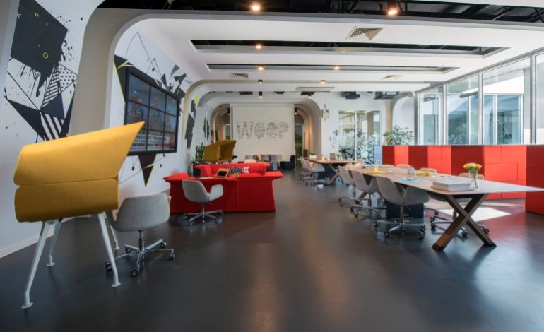Sinpaş'tan Flat Ofis'te Yeni Nesil Çalışma Alanı: Woop Pint