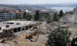 AKM'nin yıkımı tamamlandı