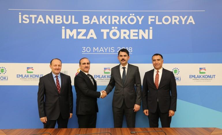2,25 Milyar TL'lik Florya Arsası İçin İmzalar Atıldı