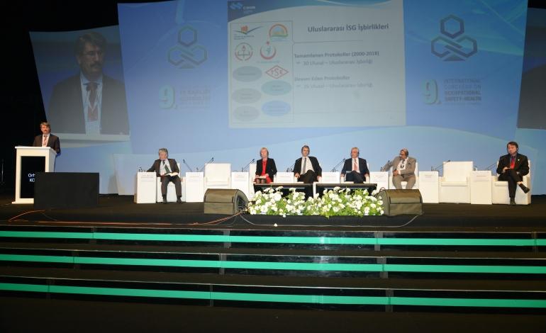 9'uncu Uluslararası İş Sağlığı ve Güvenliği Kongresi Devam Ediyor