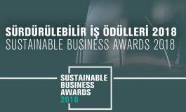 'Sürdürülebilir İş Ödülleri' için başvurular başladı
