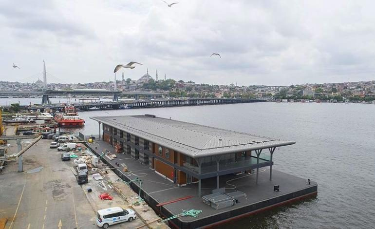 Karaköy İskelesi 29 Mayıs'ta hizmet vermeye başlayacak