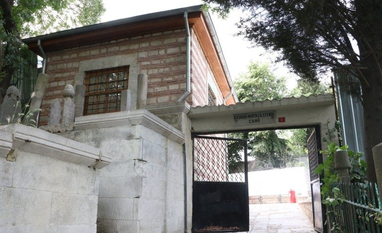 Kaşgari Murtaza Efendi Camii ibadete açıldı