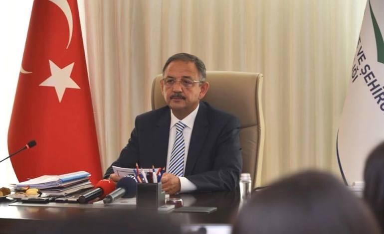 Mehmet Özhaseki'den İmar Barışı Açıklaması