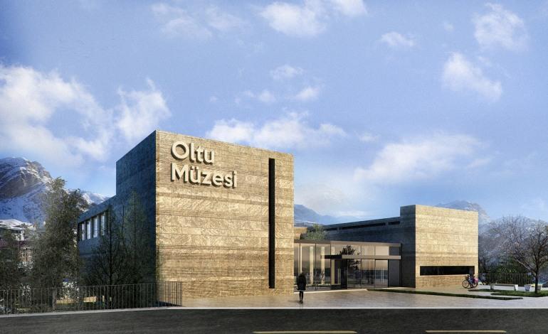 Ergün Mimarlık Oltu Müzesi Projesine İmza Atıyor