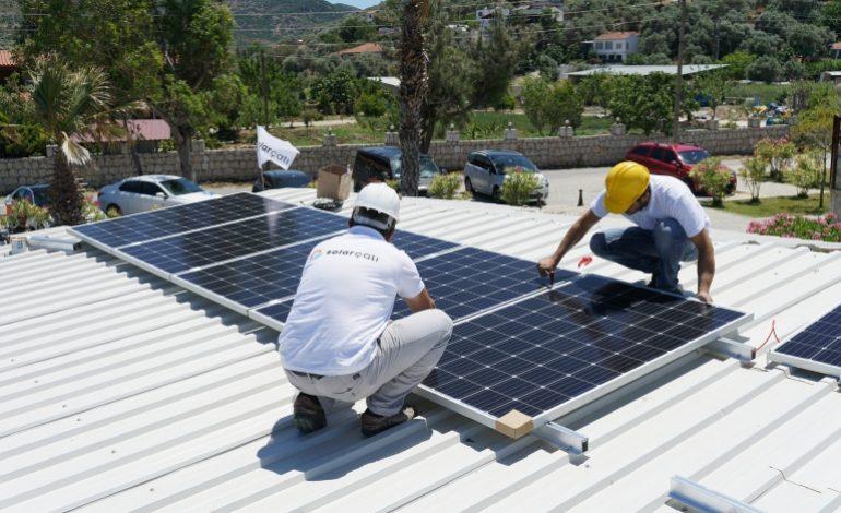 Urla'da Sosyal Güneş Sorumluluğu Projesi