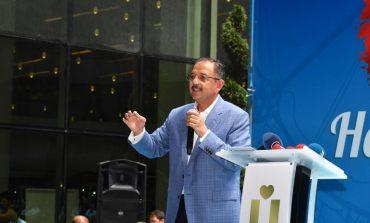 Üsküdar belediyesi Çevre ve Şehircilik Bakanı Mehmet Özhaeski'yi Ağırladı