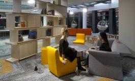 Koleksiyon'dan Yemeksepeti Park'a özel bir ofis tasarımı