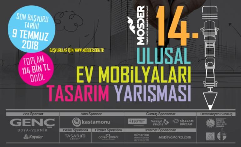 14. Ulusal Ev Mobilyaları Tasarım Yarışması'na yoğun ilgi