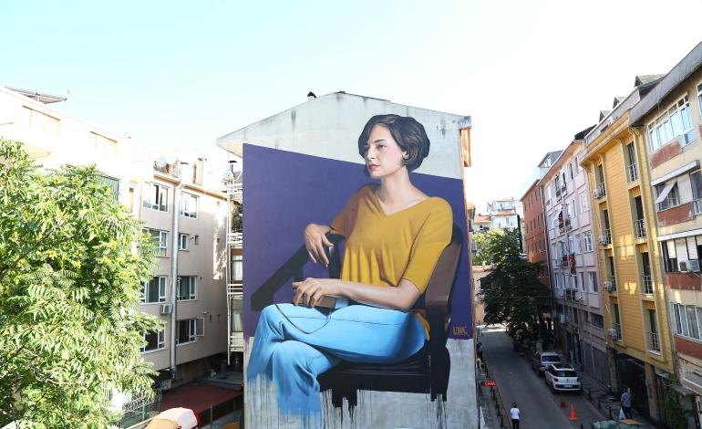 Kadıköy Sokakları Mural'la Renklendi
