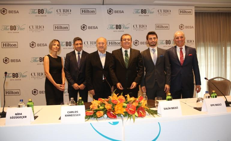 The BO Vue Hotel Bodrum için imzalar İstanbul'da atıldı