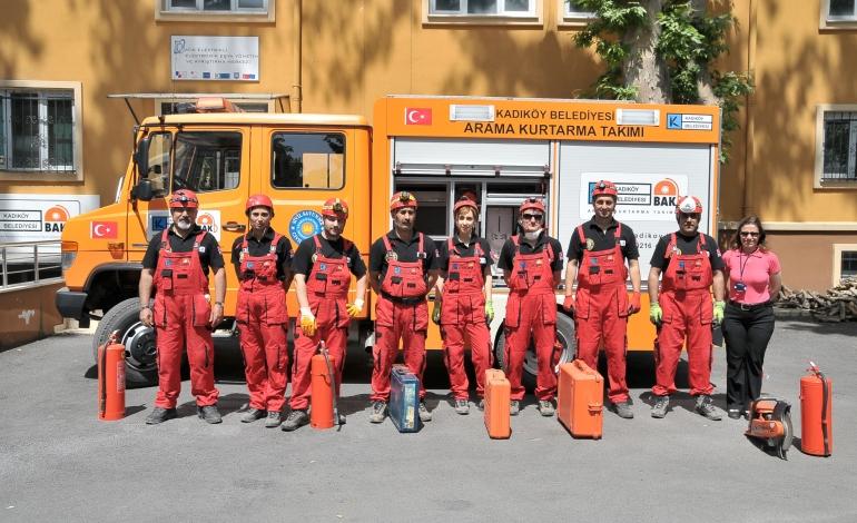 Kadıköy Belediyesi'nden Afet Eğitimi Bilinçlendirme Programı