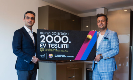 Nef'ten 2018'de 2.000'inci konut teslimi