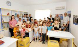 Çocuk Kütüphaneleri'nin yenisi Balıkesir-Edremit'teki Bostancı İlkokulu'nda açıldı