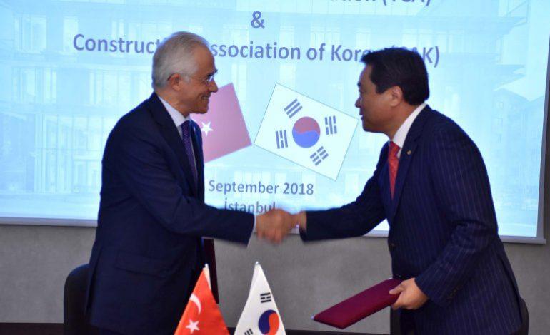 Türkiye ve Güney Kore Müteahhitleri Güçlerini Birleştiriyor