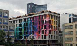 Keten Grup'tan Mimari Proje Aşamasında Tasarlanan İlk Mural çalışması