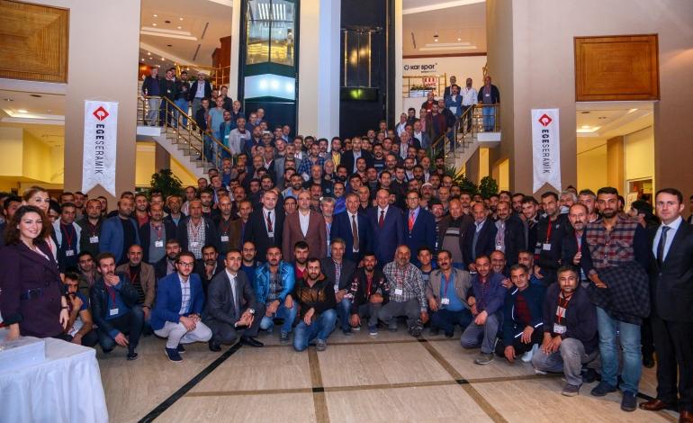Ege Seramik Usta Eğitim Semineri Erzurum'da Gerçekleştirildi