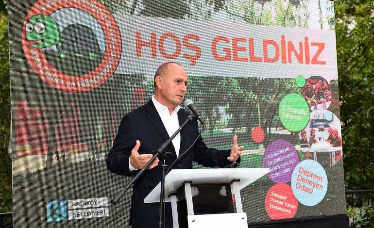 Türkiye'nin İlk Afet Eğitim Merkezi Kadıköy'de Açıldı