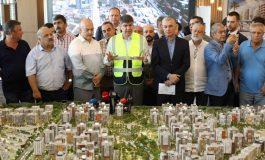 Türel'den Sur Yapı Antalya Projesi'ne ziyaret