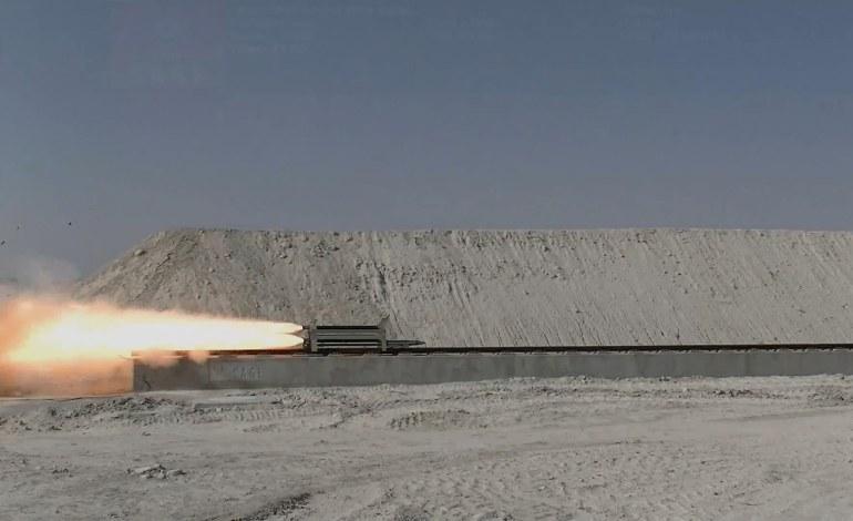 Türkiye'nin ilk ve tek süpersonik raylı test hattı açıldı!