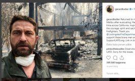 Ünlü Sanatçı Gerard Butler'ın Evi Yandı