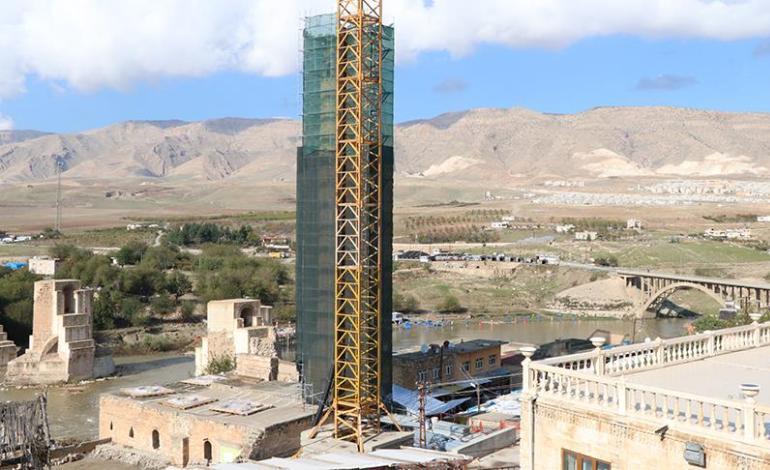 Hasankeyf'teki 609 yıllık Er-Rızk Camisi taşınıyor