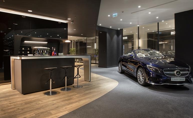 Boytorun Architects'ten Türkiye'de Bir İlk: Mercedes Benz Gelecek Otomotiv Dijital Showroom