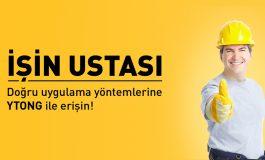 Ytong Uygulamaları 'İŞİN USTASI'yla yayında