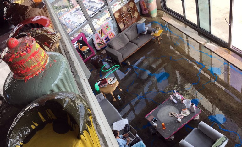 Türkiye'de İlk Kez Penthouse Bir Daire Sanat Eserine Dönüşüyor