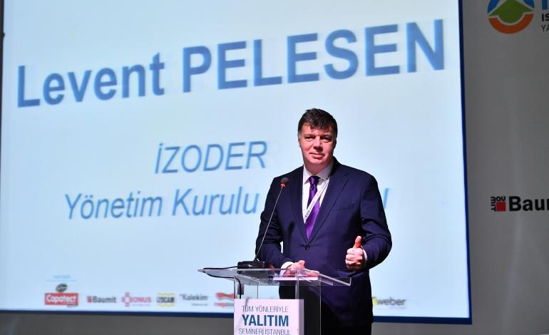 """İZODER Başkanı Levent Pelesen: """"Kentsel dönüşüm sürecinde, binalarda hayati önem taşıyan yangın yalıtımına da öncelik verilmeli"""""""