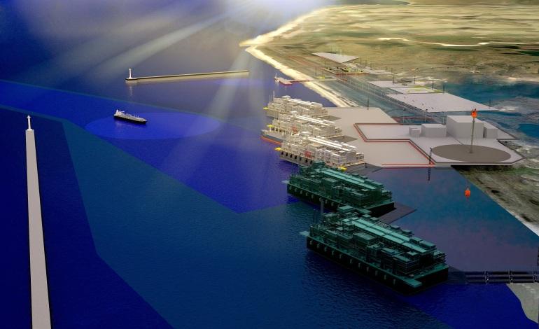 Rönesans ve Saipem'den LNG'ye  2,2 milyar euro'luk imza
