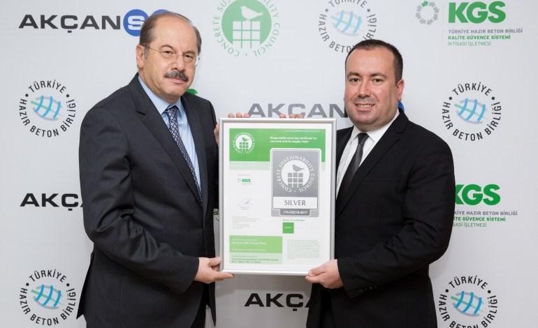 Türkiye'de ilk beton ve çimento sürdürülebilirlik belgelendirmeleri yapıldı