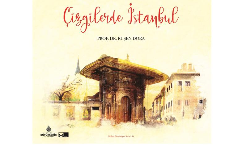 """""""Çizgilerde İstanbul"""" raflarda"""