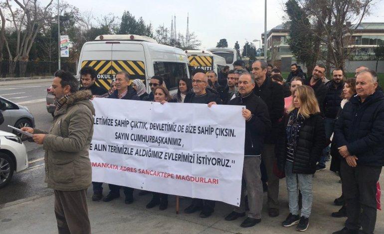 Dumankaya Mağdurları Kısıklı'da Toplandı