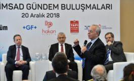 """Türkiye İmsad Gündem Buluşmaları'nda """"Dış Ticarette Tehditler ve Fırsatlar"""" Konuşuldu"""