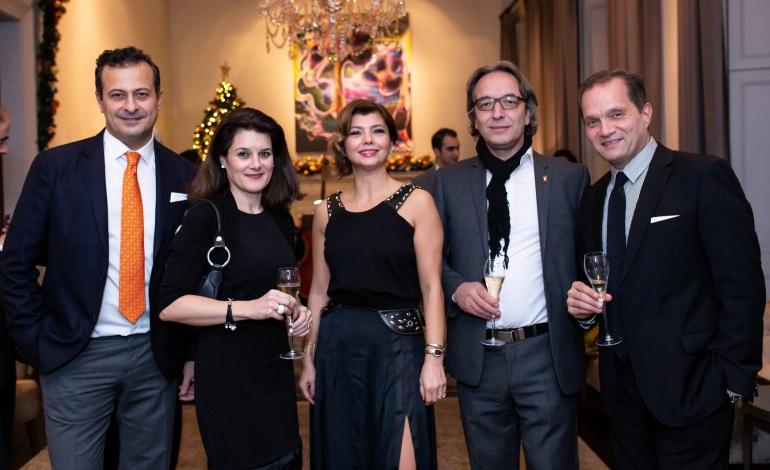 İngiliz gayrimenkul ve finans sektörü Peker Holding'in davetinde buluştu