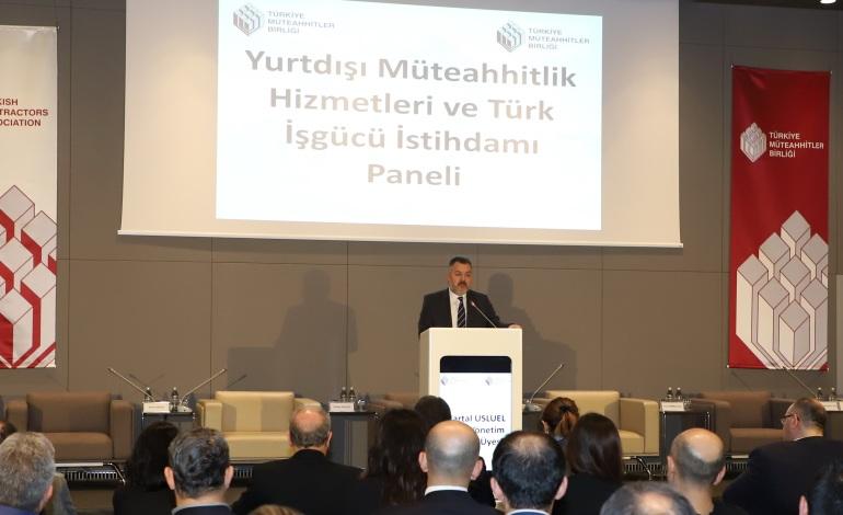 Yurtdışı Müteahhitlikte Hedef: Türk İş Gücü İstihdamını 100 Binin Üzerine Çıkarmak