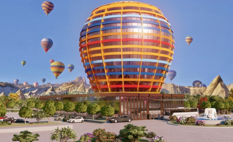 Kapadokya'ya Balon Otel