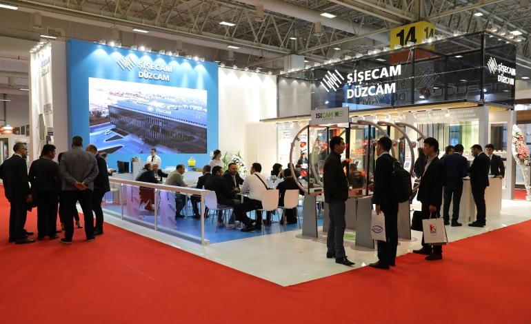 Şişecam Düzcam 'Avrasya Cam Fuarı'nda İleri Teknolojiyle Üretilen Yeni Ürünlerini Tanıttı