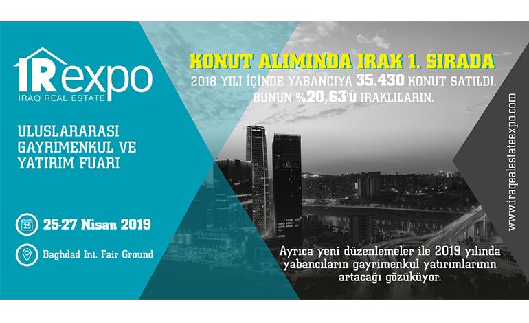 IREXPO, 25-27 Nisan tarihleri arasında IRAK/ Bağdat'ta gerçekleşecek
