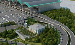 Sabiha Gökçen Havalimanı 2 Bin 800 Kişi Kapasiteli Cami Projesinin Temelini Attı