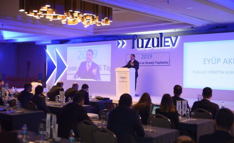 """FuzulEv'in """"2019 satış vizyon ve strateji"""" toplantısı Mersin'de yapıldı!"""