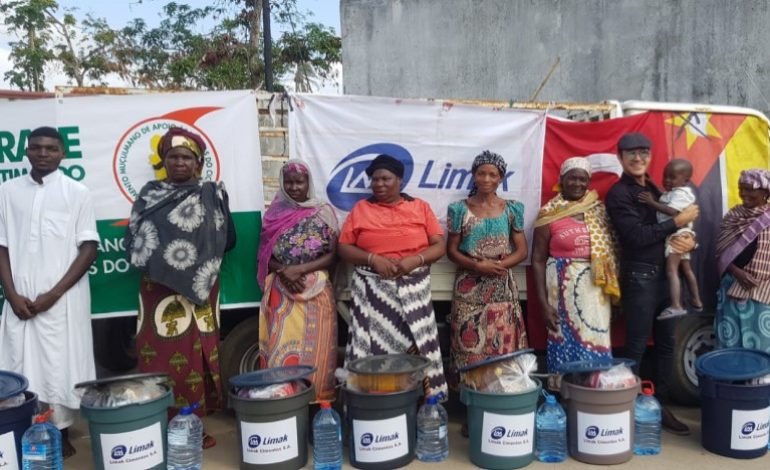Kasırganın Vurduğu Mozambik'e Limak Cimentos'tan Büyük Destek!