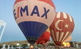RE/MAX sıcak hava balonuyla Kapadokya'daydı