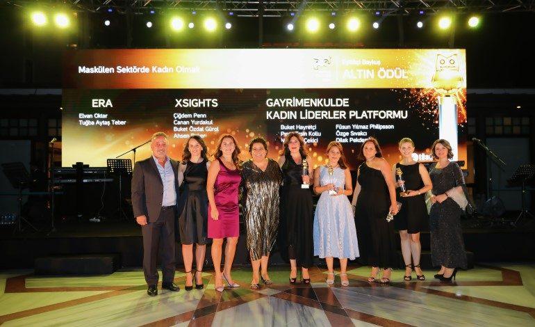Gayrimenkulde Kadın Liderler Platformu Eşitlikçi Baykuş Ödülü Aldı