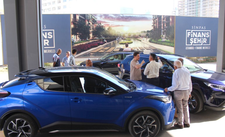 Toyota Hybrid Talks Sinpaş Finans Şehir'de