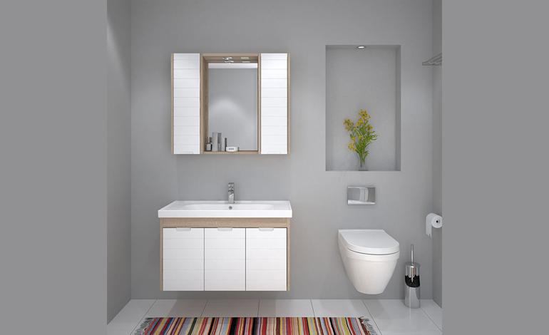 Fonksiyonel Bir Banyo Dekorasyonu İçin Banyo Dolabı Seçimi!